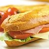 Belegd broodje vlees + blikje